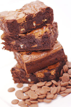 Quinoa Death by Chocolate Brownies - naturally Gluten Free