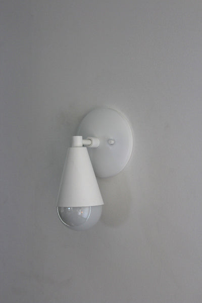 White Uptown Sconce