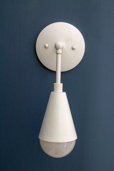 White Honest Sconce