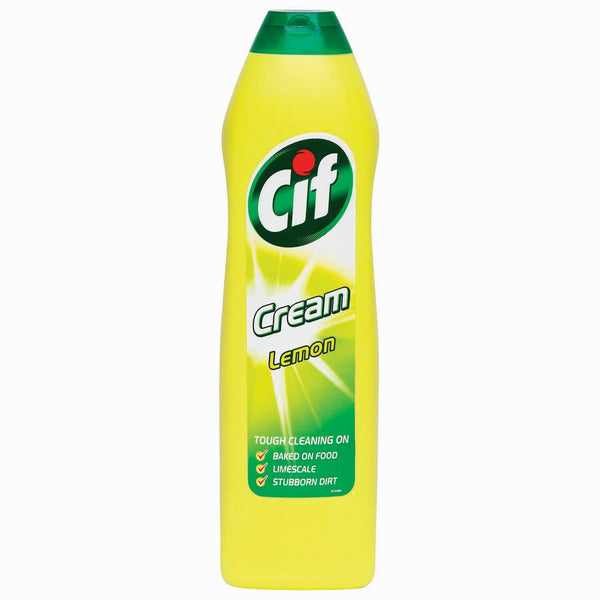 Cif Cream Lemon Bottle 500ml