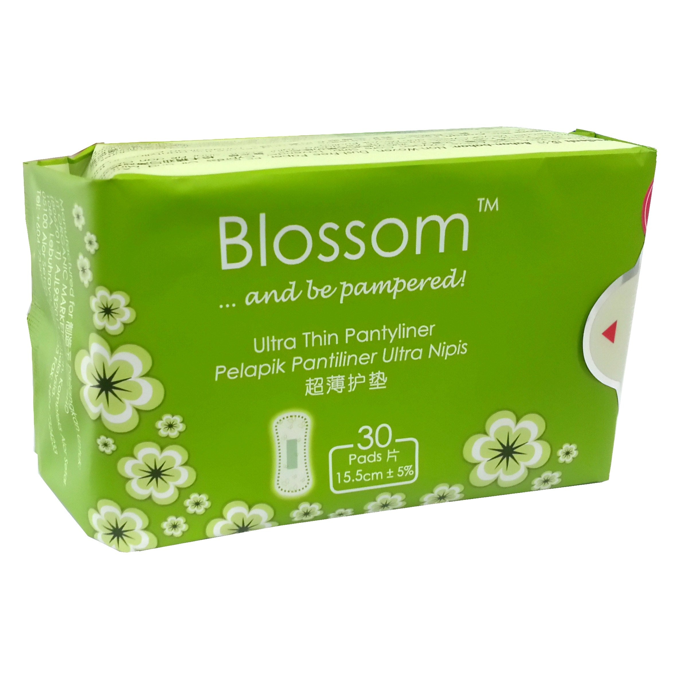Blossom Ultra Thin Pantyliner 30pads