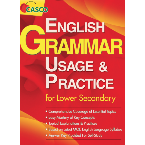 Casco English Grammar Usage&Practice Lower Secondary