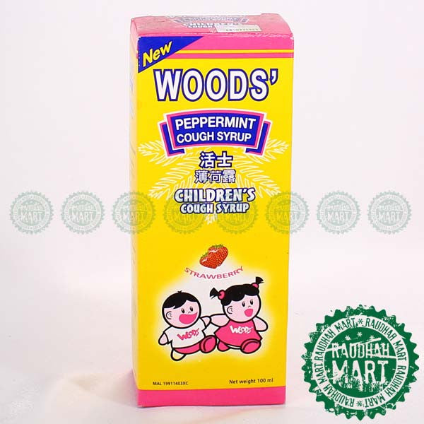 Woods Peppermint Child 100ML