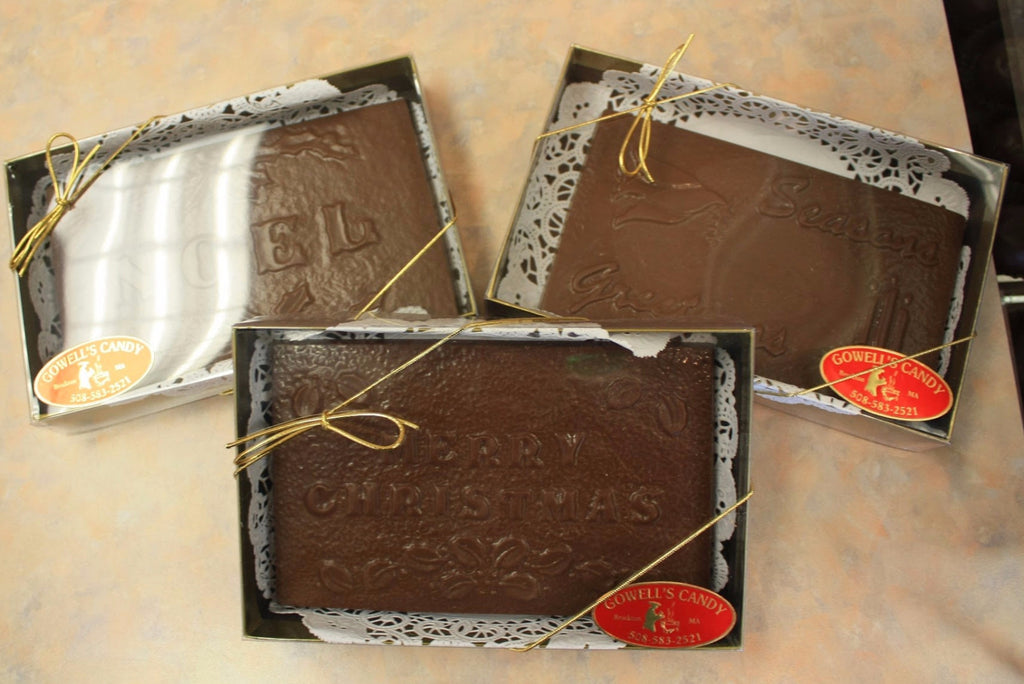 Chocolate Holiday Cards
