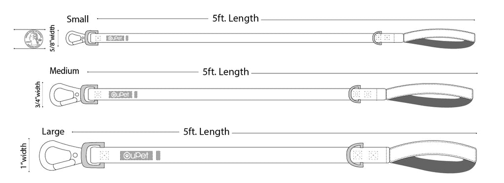 Leash Size Chart