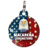 American Eagle Patriotic Dog ID Tag for Pets