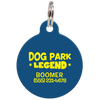 Navy Dog Park Legend Funny Dog ID Tag for Pets