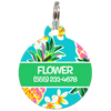 Green Hawaii Personalized Dog ID Tag for Pets