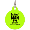 Lime Ladies' Man Funny Dog ID Tag