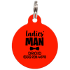 Red Ladies' Man Funny Pet ID Tag