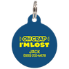 Navy Oh Crap I'm Lost Funny Dog ID Tag