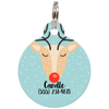 Christmas Reindeer | Personalized Dog ID Tag for Pets