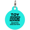 Aqua Toy Addict Funny Dog ID Tag