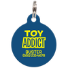 Navy Toy Addict Funny Dog ID Tag