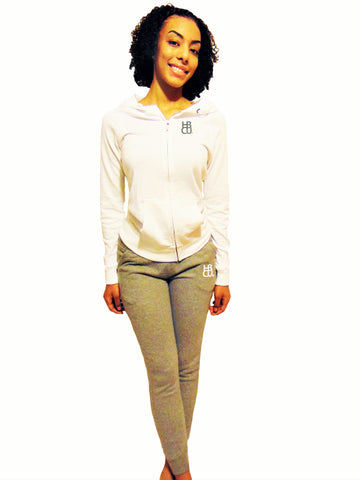 HBCU Fusion Zip Up Hoodie Jogger Outfit