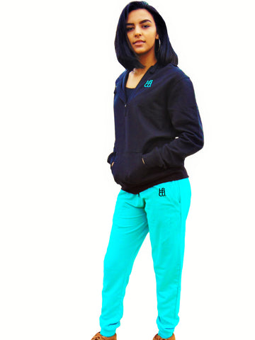 HBCU Fusion Zip Up Hoodie Pullover Jogger Outfit