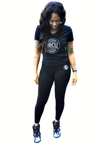 HBCU Womens V Neck T-Shirt Outfit