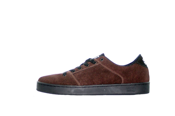 Sound,suede, chocolate with black outsole
