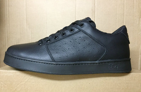 Sound,leather, black with black outsole