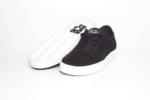 Sound, black with white outsole