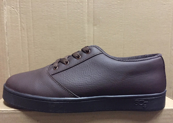 LoPro, leather, chocolate with black outsole