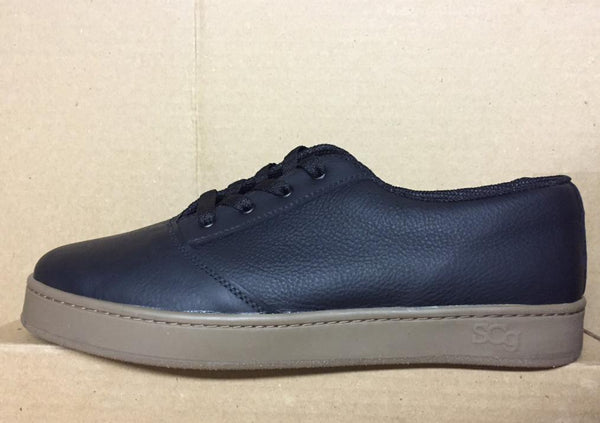 LoPro, leather, black with gum outsole