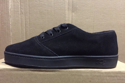 LoPro, suede, black with black outsole