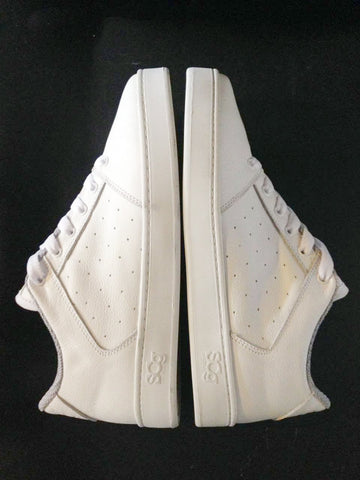 Sound,leather, white with white outsole