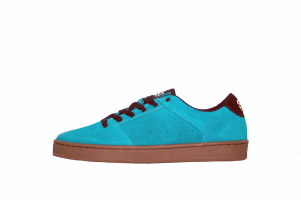 Sound, turquoise with gum outsole