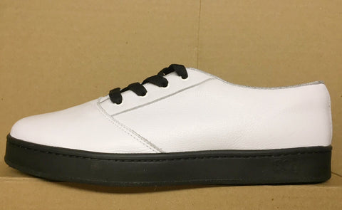 LoPro, leather, white with black outsole