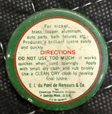 Dupont Nickel Polish No. 7 Small Sample Tin - Old & Original