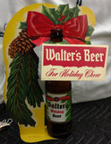 Walter's Beer Christmas Bottle Display - Eau Claire, Wisconsin Beer History
