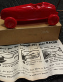 Super Jet Toy Racer - 1950's - NOS Old & Original - Elmar Products - New York, NY