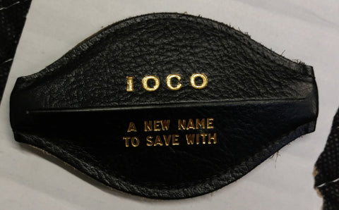 IOCO Coin Purse - Iowa Oil Company - Dubuque, Iowa - New Old Stock
