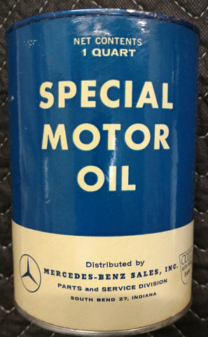 Mercedes Benz Special Quart Motor Oil Can - South Bend, Indiana