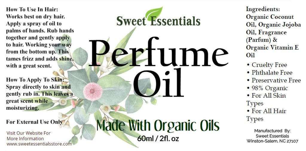 Patchouli & Hemp - Perfume Oil