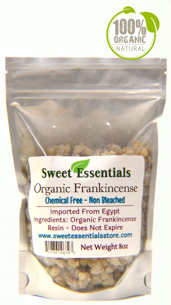 Organic Frankincense Resin - Boswellia Carterii - Imported From Egypt