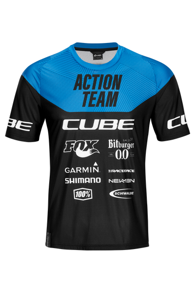 Jersey CUBE EDGE X Action Team 2021 Manga Corta