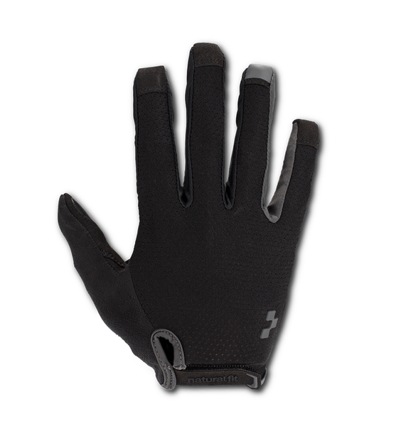 Guantes CUBE Natural Fit - Blackline