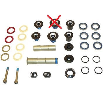 Juego de Baleros Sellados y Bujes SwingArm Repair Kit Scott spark 2012 Genius 2013
