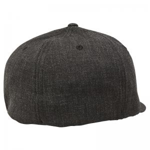 Gorra Fox Clouded Flexfit Negro/Rojo