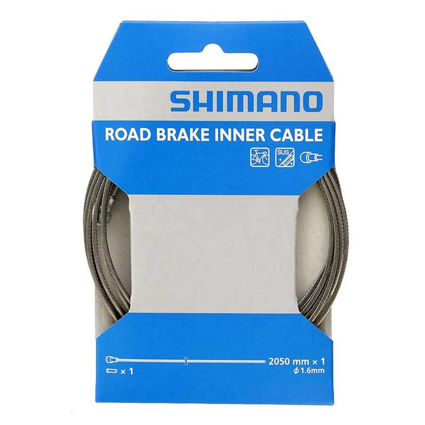 Cable de Freno Shimano Ruta 2050mm Acero Inox