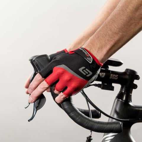 Guantes BellWether Ergo Gel - Negro/Rojo