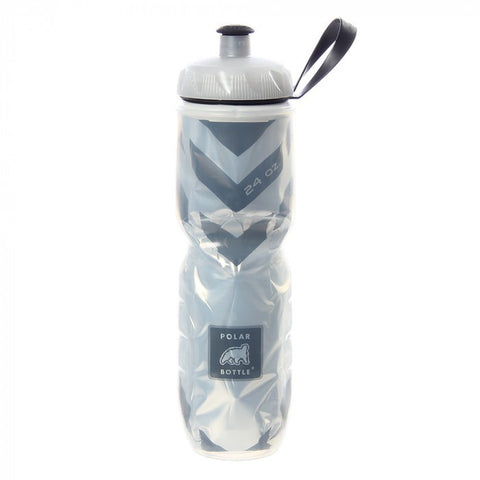 Ánfora Insulada Polar Bottle 24oz Chevron Negro
