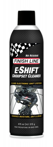 Limpiador E-Shift FINISH LINE para cambios electronicos 474ml