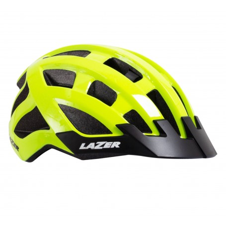 Casco Lazer Compact Amarillo Flash