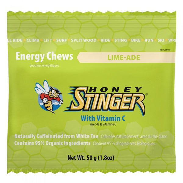 Gomitas Energéticas Honey Stinger Sabor Lima