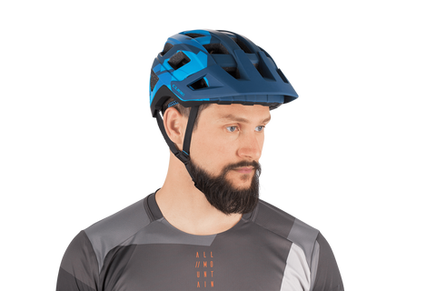 Casco CUBE BADGER Azul