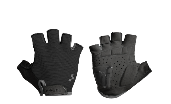Guantes Cortos CUBE Natural Fit - Blackline