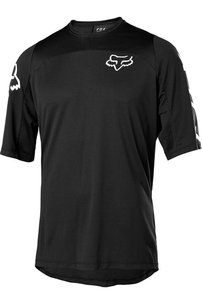 Jersey FOX Defend Manga corta Negro